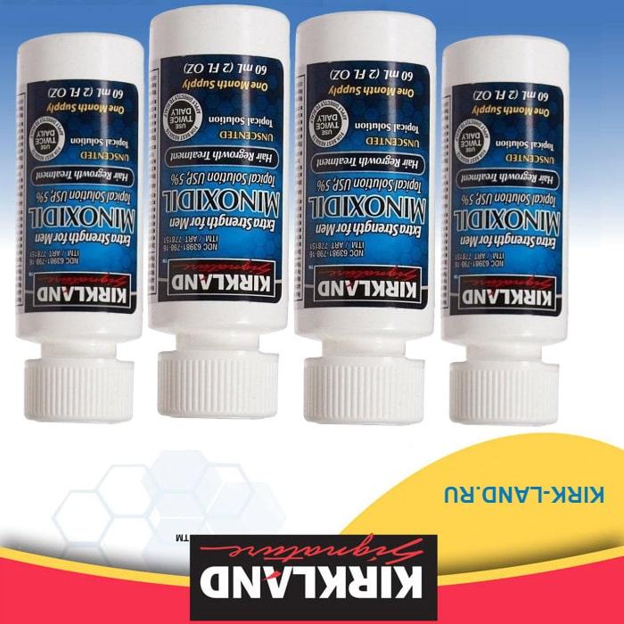 Minoxidil 4 флакона